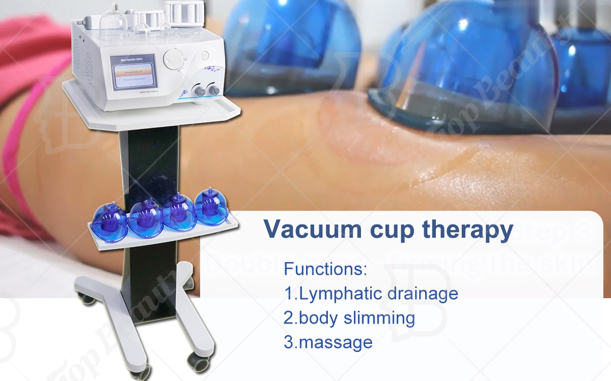 Starvac Butt Lifting Vacuum Cups Roller Vacuum Therapy Cupping Machine