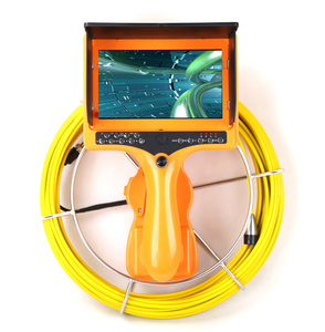 23mm Pipeline Tube Inspection Snake Camera Recording Drain Sewer Video Endoscope Borescope Portable 7inch Monitor