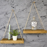 Rustic Wooden Floating Shelves Decorative Home
