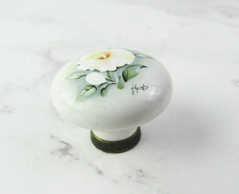 porcelain handle furniture handles cabinet knobs