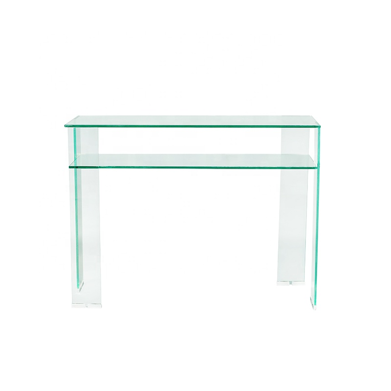 Modern family furniture benting glass coffee table living room furniture  tempered glass coffee table  table top glass price