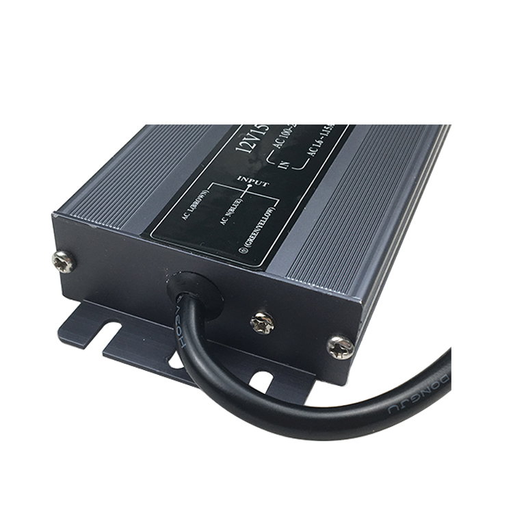 2019 new products 12v 24v slim size led driver waterproof IP67 100W switching power supply for led light box