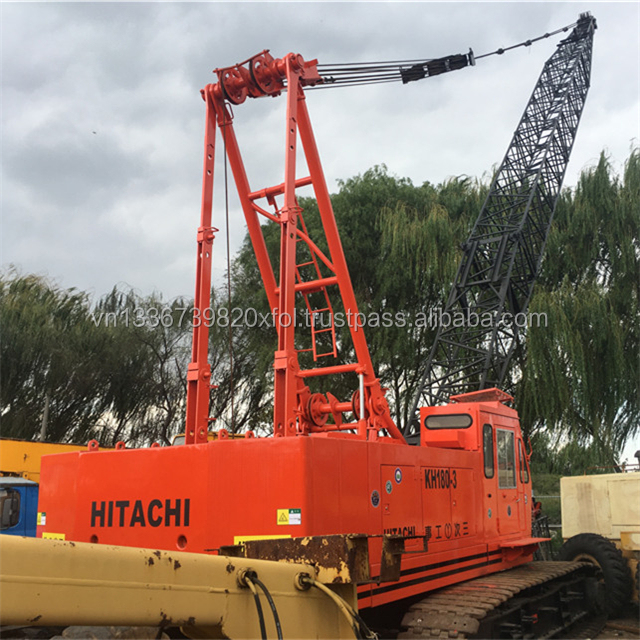 Used 50 Ton Hitachi Crawler Crane KH180-3/Hitachi KH180-3 Crawler Crane Cheap Price With High Condition