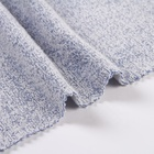 Solid plain terry ant polyester cotton one side brush fleece fabric