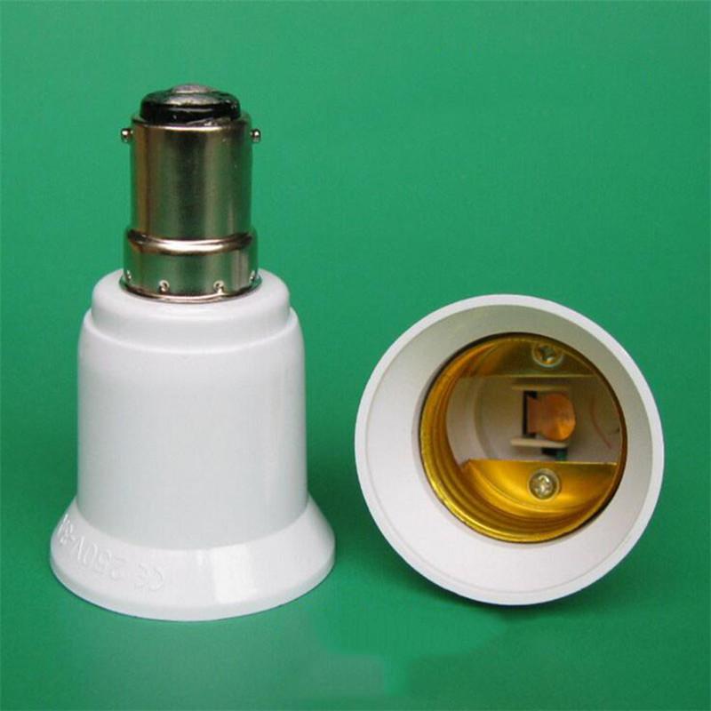 B15 To E27 Lamp Holder Converter E27 LED Light Base Socket