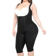 Aberto virilha emagrecimento Fajas shapewear colombiano grandes <span class=keywords><strong>mulheres</strong></span> sexy shaper corpo inteiro