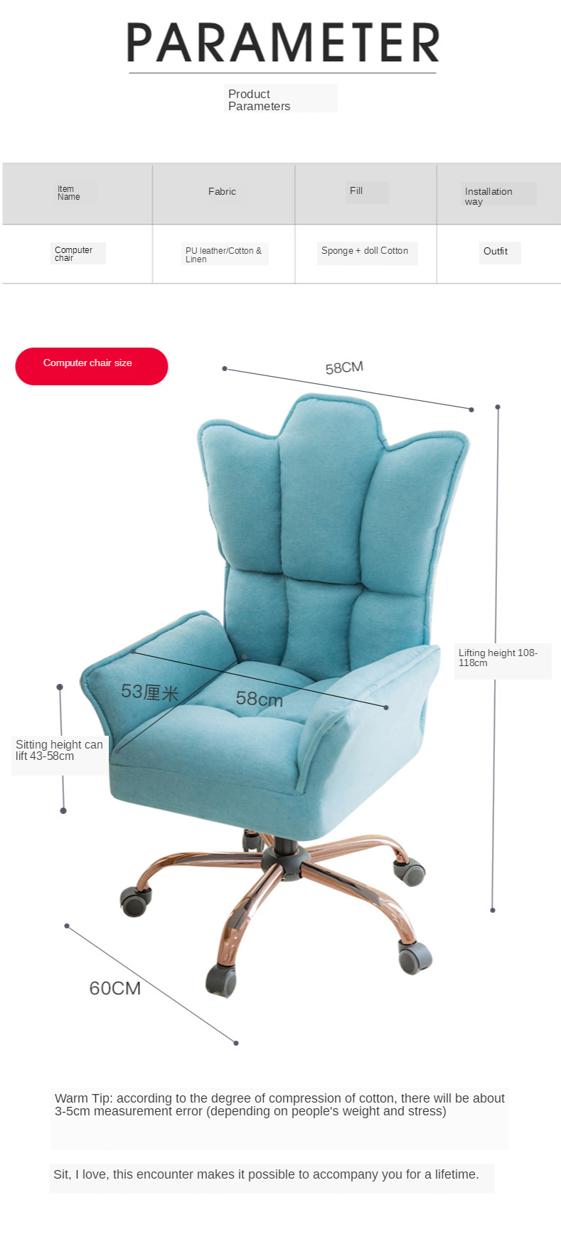 New arrived chair design bar blue chair