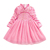 2019 fall long sleeve  Wholesale Baby Girls Party 2 years old red christmas One Piece Girls Party Dresses