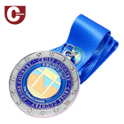Wholesale Crafts Gifts Medallion Manufacturer Running Sports Race Military Medals Custom Metal Medal Factory