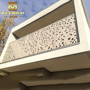 Outdoor Laser Cut Decorative Aluminum
