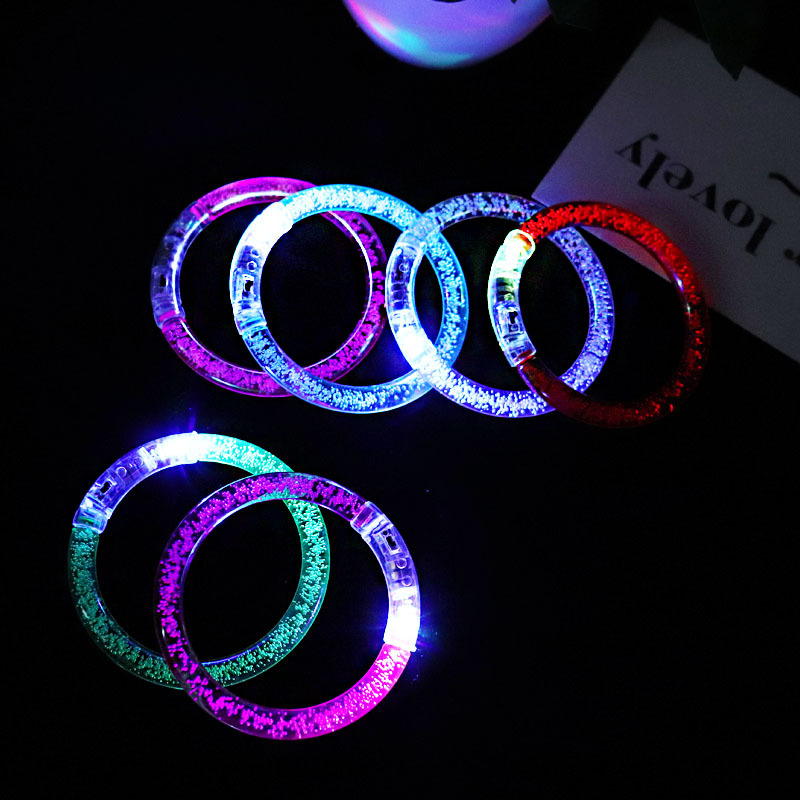 Kids Led Flashing Bracelet For Events For Birthday Halloween Glowing Party Supplies