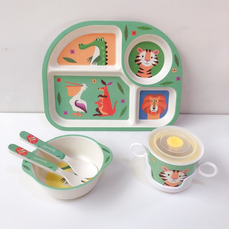 Wholesale alibaba bamboo tableware <strong>kids</strong> <strong>plate</strong>