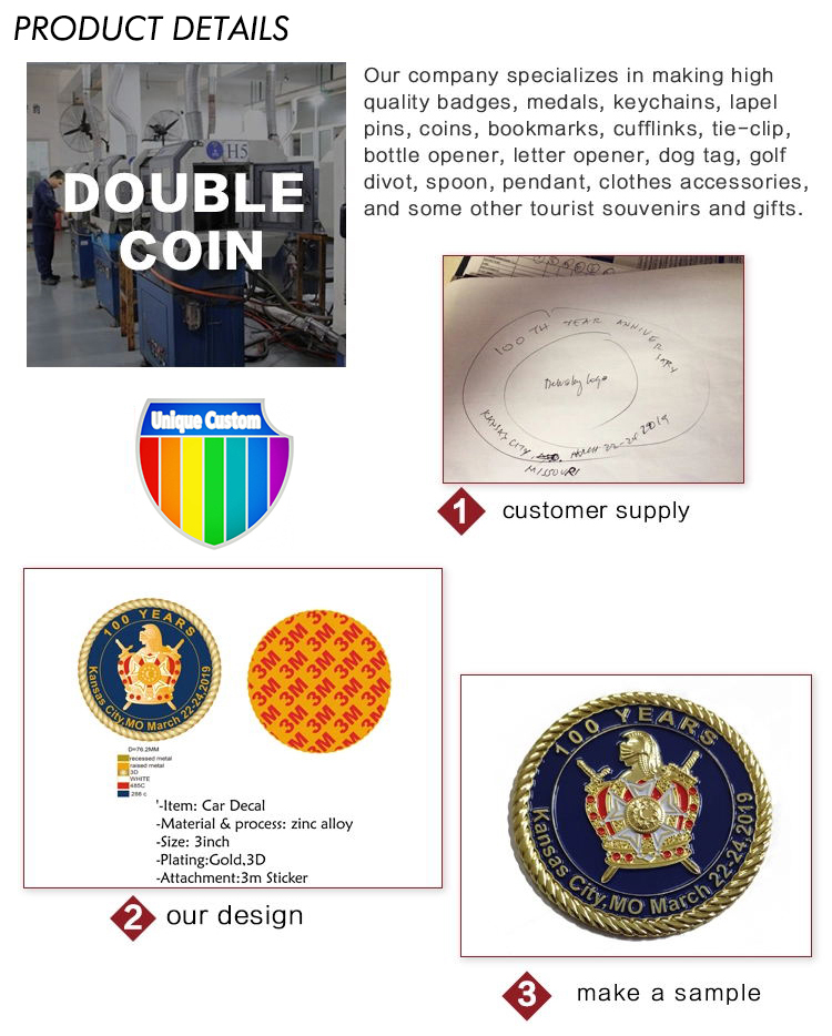 High Quality Custom Wholesale souvenir high coin