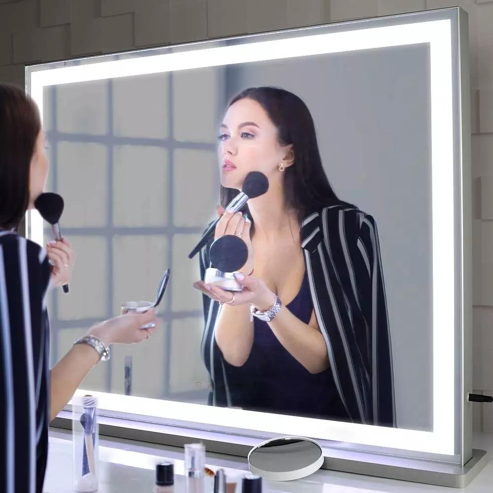 Beautme large vanity mirror Hollywood Lighted Make up espejos decorativos Vanity mirror with lights