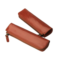 Fashion vintage Pencil Case leather cover Pen Holder protect storage pencils