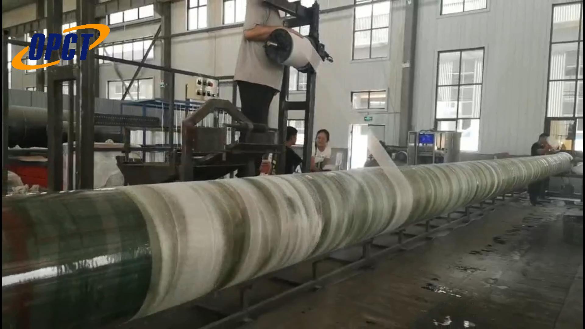 GRP/ FRP pipe filament winding machine