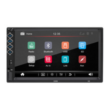 "2 Din Auto Radio 7 ""Hd Autoradio Multimedia Player 2DIN Touch Screen Auto Car Audio Stereo MP5 Bluetooth Usb tf di Fm"