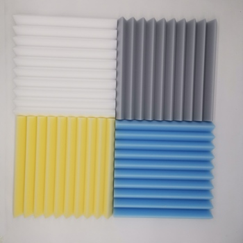 Customized Eco-friendly Soundproof Foam Panels Acoustic Polyurethane Foam and melamine foam For Studio