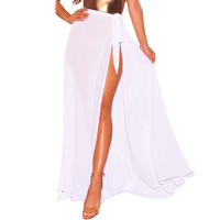 Hot Sale Women Wrap Maxi Beach Skirt Cover up Beachwear