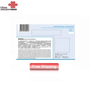 China Unicom Australia New Zealand 10 Days Cell Phone Prepaid Sim Data Cards
