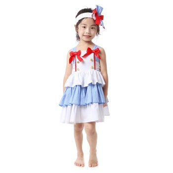 Wholesale children's Easter clothing eggs and bunny designs cute easter girls dress