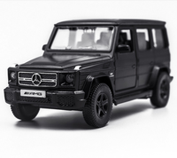 Diecast Toy Vehicles 5Inch G63 car simulations Car Toy Can Open The Door and Pullback Function For Children Gift 5 pulgadas