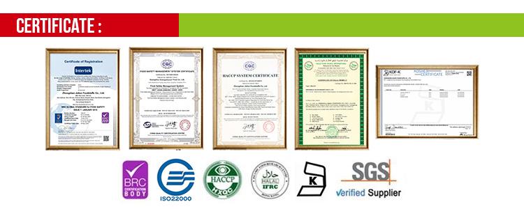 ISO22000 0% di Additivi Naturale Burro di Arachidi OEM
