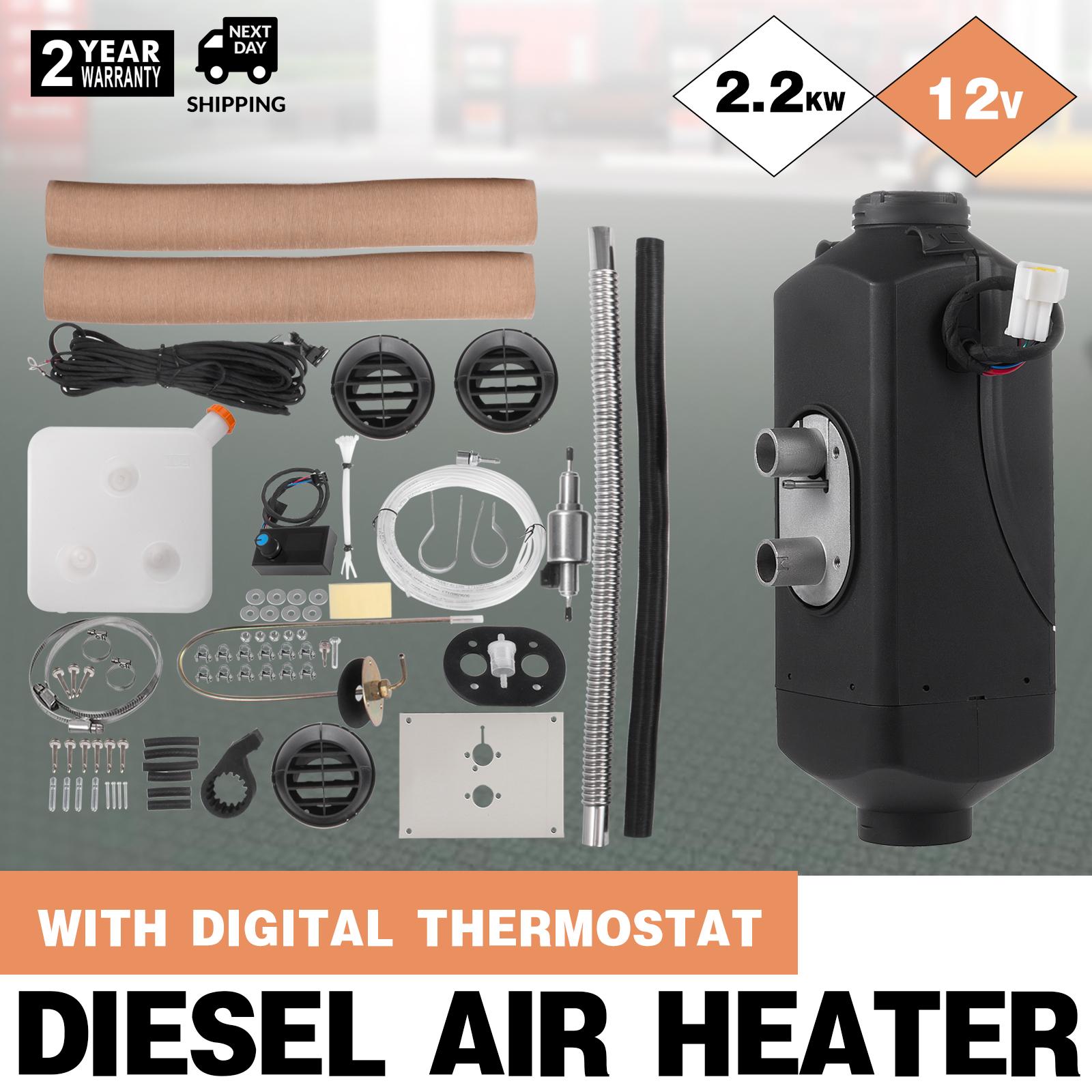 Calentador de aire diesel para el canal de ventilaci/ón del tanque de Parkplatz