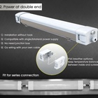ShineLong 60W Industrial Triproof LED Light Fixture Replacement for Fluorescent Lamps