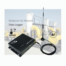 Multipoint Jaringan 4G Data Logger Suhu Serial Port dengan Ethernet Converter
