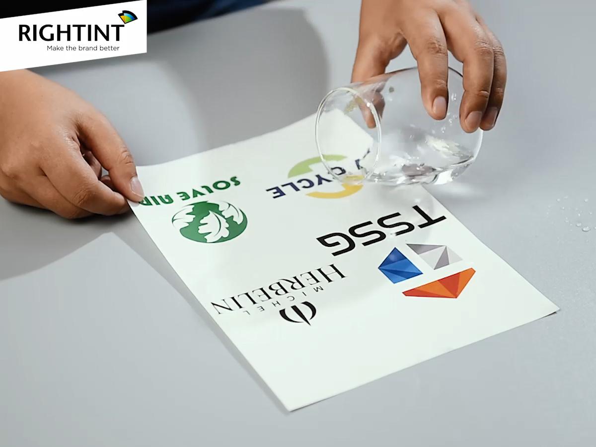Clear inkjet printable vinyl self adhesive transparent PET film