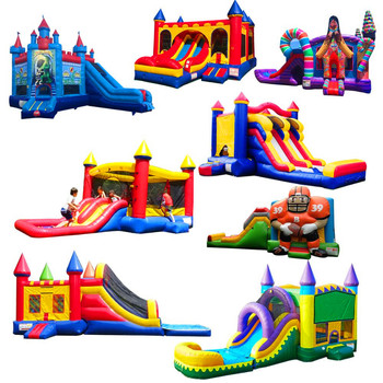 2018 Enjoy China best-selling commercial inflatable frozen bouncy castle/ frozen jumping castle for kids