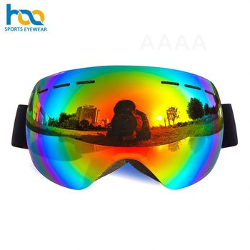 China Factory Ce Certificate Dual Lens Ski Sunglasses Snow Safety Custom Glasses Winter Sports Googles