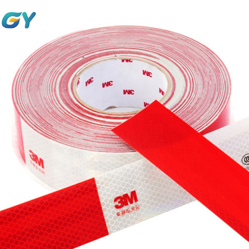 3M 983D reflective safety tape for vehicles wrapping, signal marks for reflection For Car Vehicle Trailers 50mm*50 yds Diamond