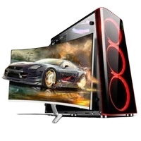 Custom Logo factory OEM assemble desktop gaming i5 processor mini workstation i7 cheap price system unit pc computer