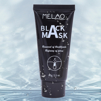 MELAO natural organic deep facial cleaning bamboo activated charcoal korean head face mask oem