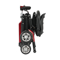 2020 new mobility handicapped foldable four wheels scooter patient disable person scooter adult