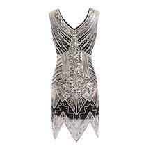 Южная Африка v-образным вырезом блесток шаблон бисером платье выпускного вечера африканские платья для женщин плюс размер Vetement Femme 2020(Китай)