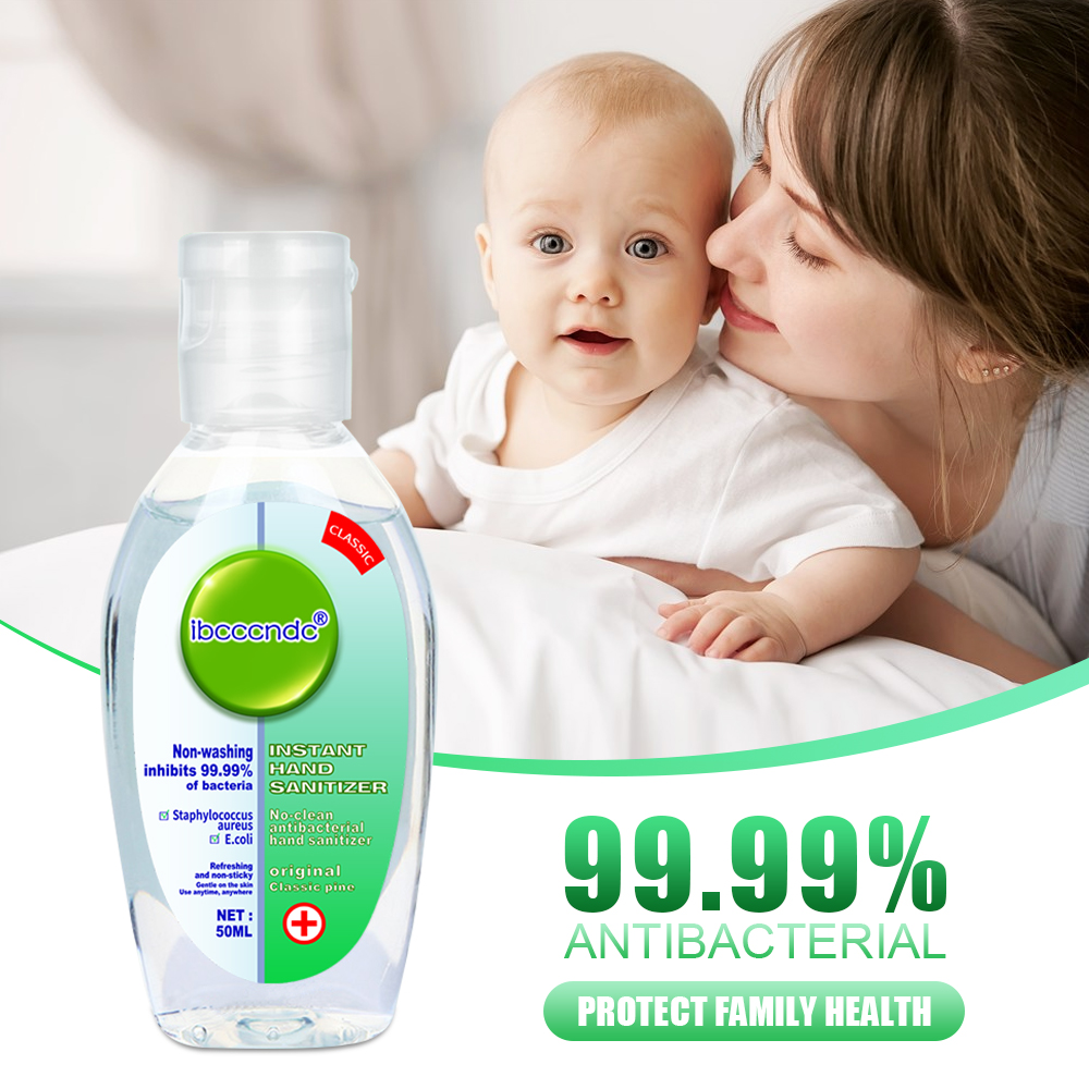 50ml 75 % alcohol Hand sanitizer No wash CE/MSDS waterless