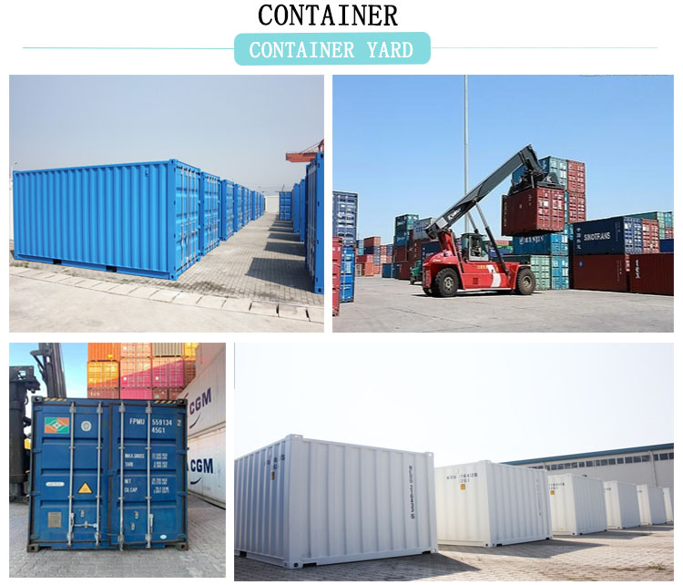 Best and cheapest used 20ft 40ft container empty shipping container for sale