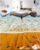 Beach shell starfish toilet bathroom bedroom 3d floor sticker epoxy