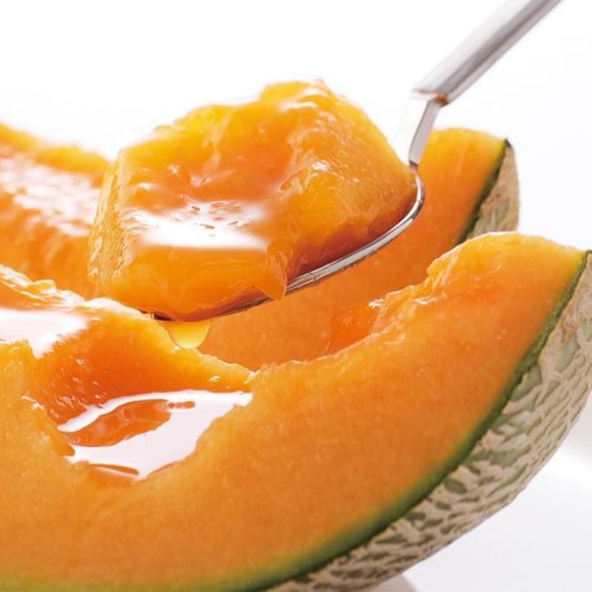Japanese melon seeds cultivated by veteran producers