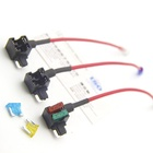 Micro Add-a-Circuit Kit Auto Low Profile Mini Fuse TAP Holder Fuses Assortment for Car Truck SUV Adding circuits
