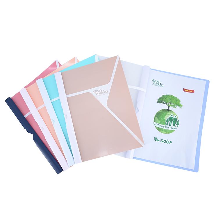 A4 File Custom Eco-Friendly Office Products File Folder, Hardcover Folder Report Cover File Folder