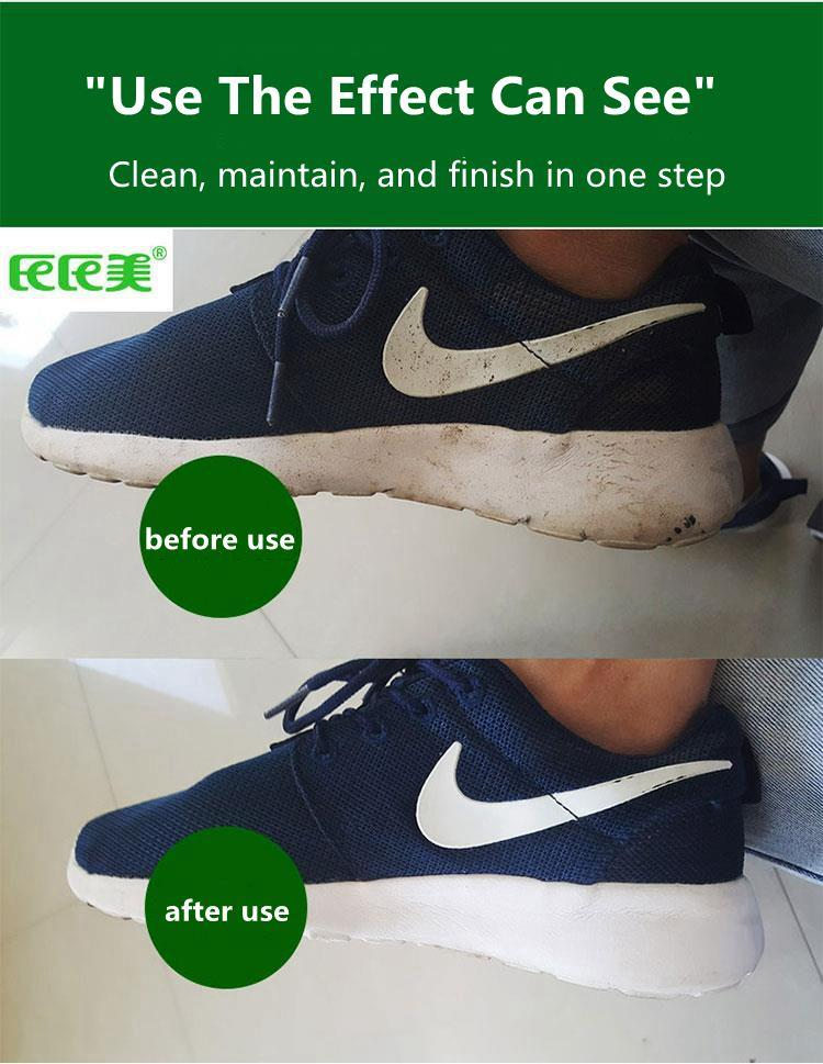 18cmx15cm / single small package, easy to carry, degradable, washable multi-purpose sneaker shoes cleaning wipes