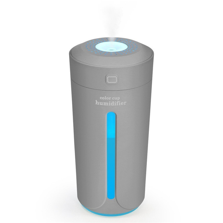 230ml Cool Mist Diffuser MIni USB <strong>Ultrasonic</strong> <strong>Air</strong> <strong>Humidifier</strong> for Car Home Office
