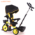 Purple pink blue color little stroller 3 tyre cycle smart 4 in 1 baby trike with rubber wheels two brakes for sale in germany