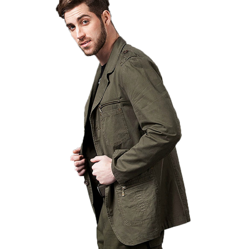 2020 new type fashion man <strong>jackets</strong> Casual Blazers Designer Fashion <strong>Military</strong> <strong>Style</strong> 100% Cotton Male <strong>Jacket</strong> Coat Men cket