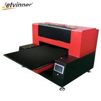 JETVINNER 2019 Cheapest Automatic A1UV Printer 60cm*90cm Printing Size For Ball T-Shirt Printing machine