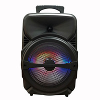 Top Sellers Good Sound Stereo Music LED Light DJ Party Bluetooth Speakers